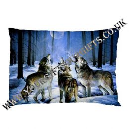 Wolf Pillow Case, Wolf Themed Pillow Cases, Fantasy Wolf Pillow Cases, Wolves On Pillow Case, Wolf Themed Gifts
